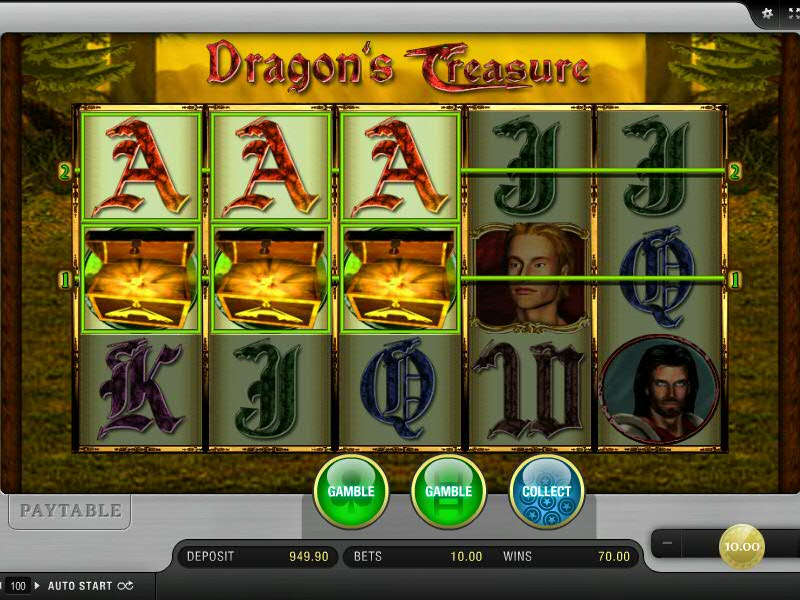 Dragon's Treasure von Merkur