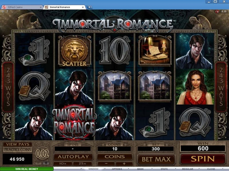Immortal Romance von Microgaming