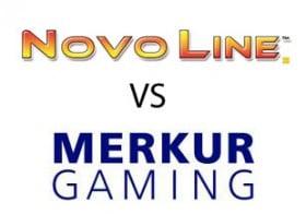 Automatenspiele von Novoline und Merkur im Vergleich