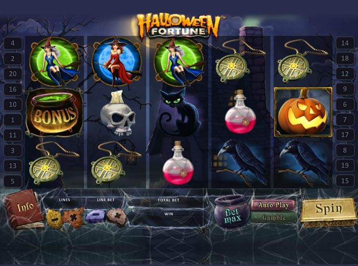 Halloween Fortune Slot von Playtech