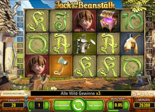 Jack and the Beanstalk online spielen